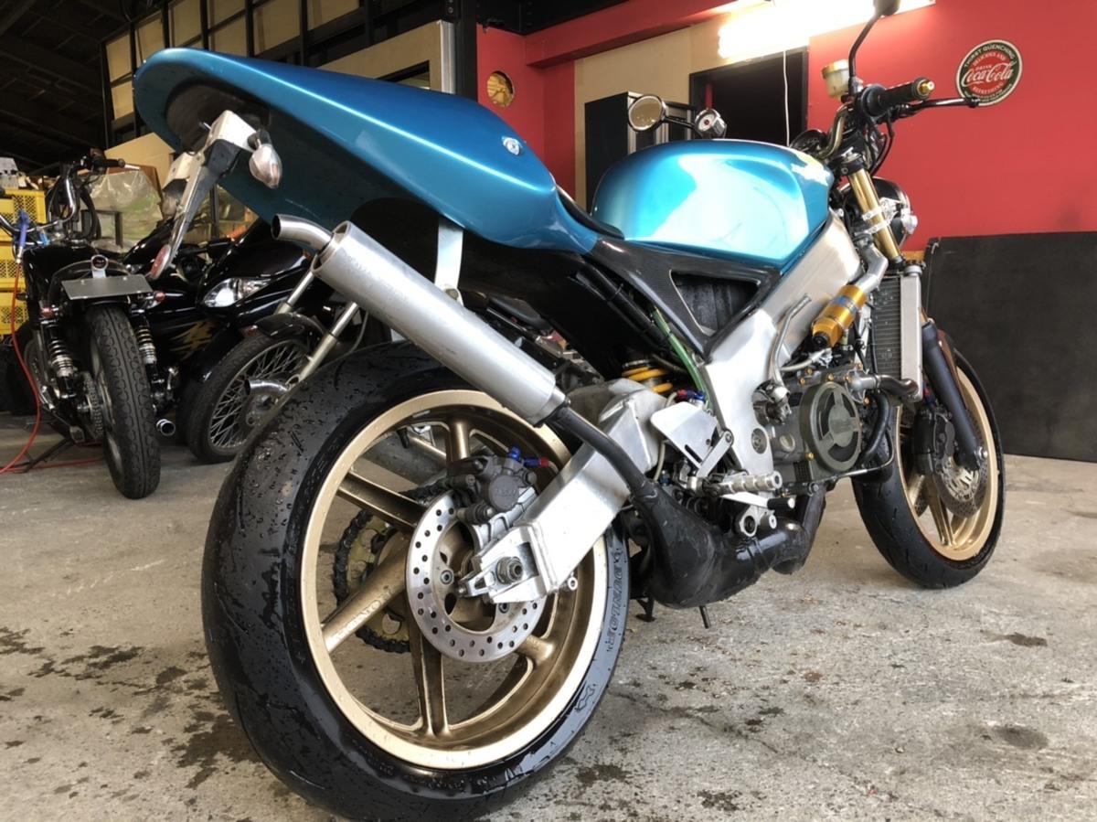 希少 ホンダ NSR250 MC21 2スト ネイキッド フルカスタム バイク ツースト 書類あり 札幌発_画像4