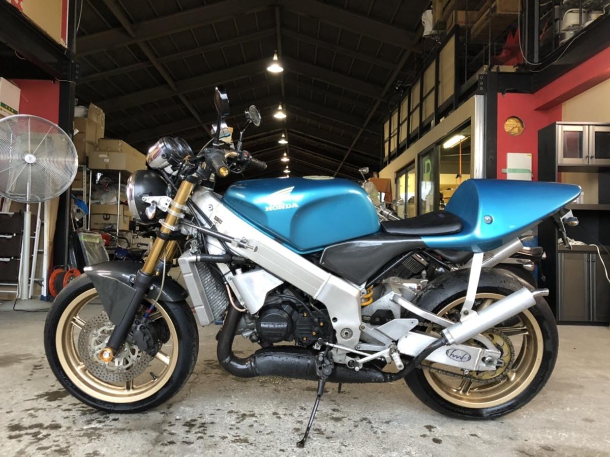 希少 ホンダ NSR250 MC21 2スト ネイキッド フルカスタム バイク ツースト 書類あり 札幌発_画像6
