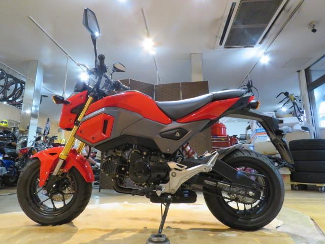 「□HONDA GROM125 JC61 ホンダ グロム125 1039km レッド 125cc 実動! バイク 札幌発」の画像2