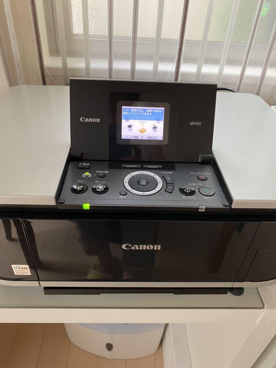 【通電確認済み・ジャンク】Canon PIXUS インクジェットプリンター★MP600_画像1