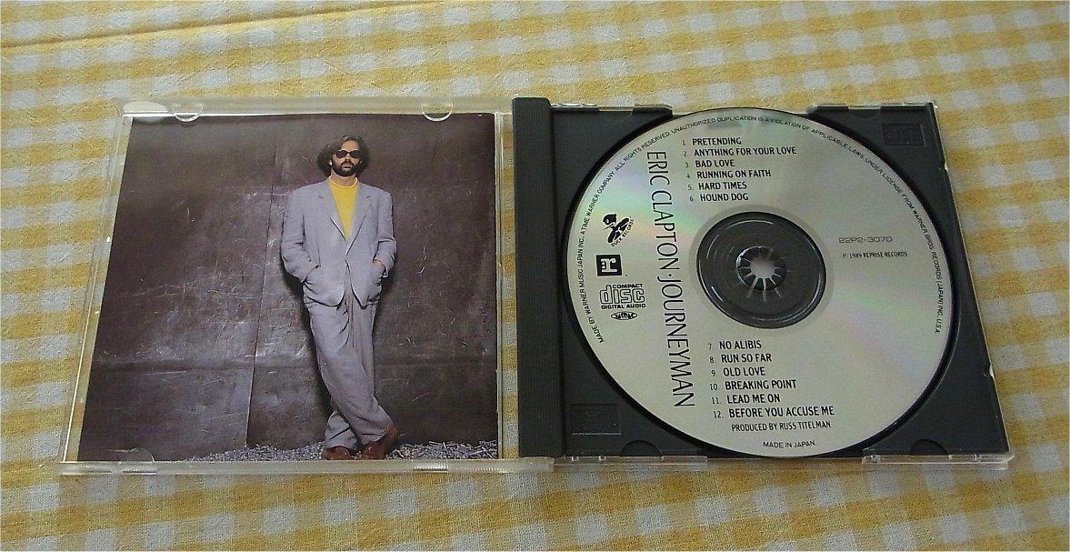 """即決・送料無料・国内盤)""""Journeyman ジャーニーマン"""" / Eric Clapton エリック・クラプトン"""