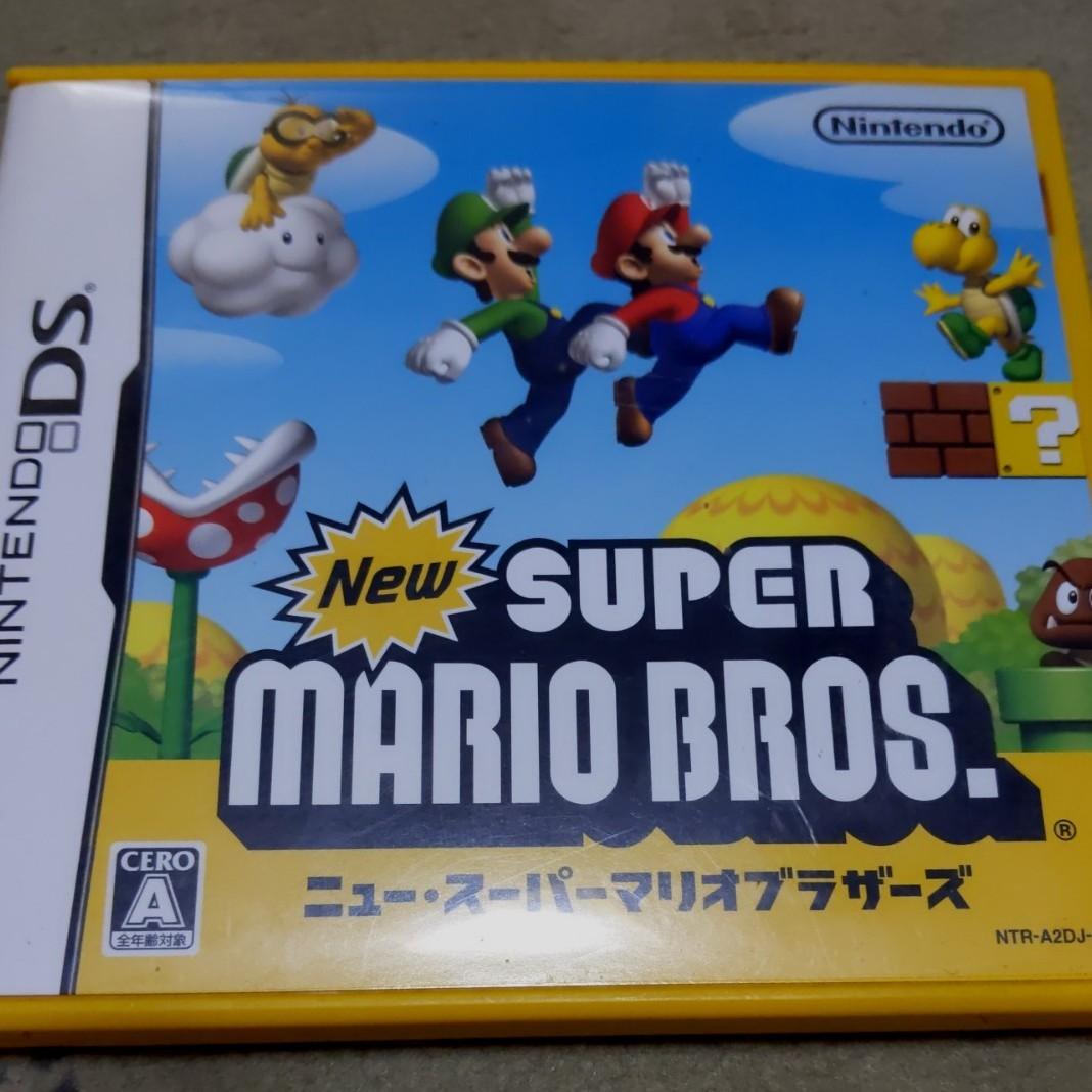 【DS】 Newスーパーマリオブラザーズ DSソフト