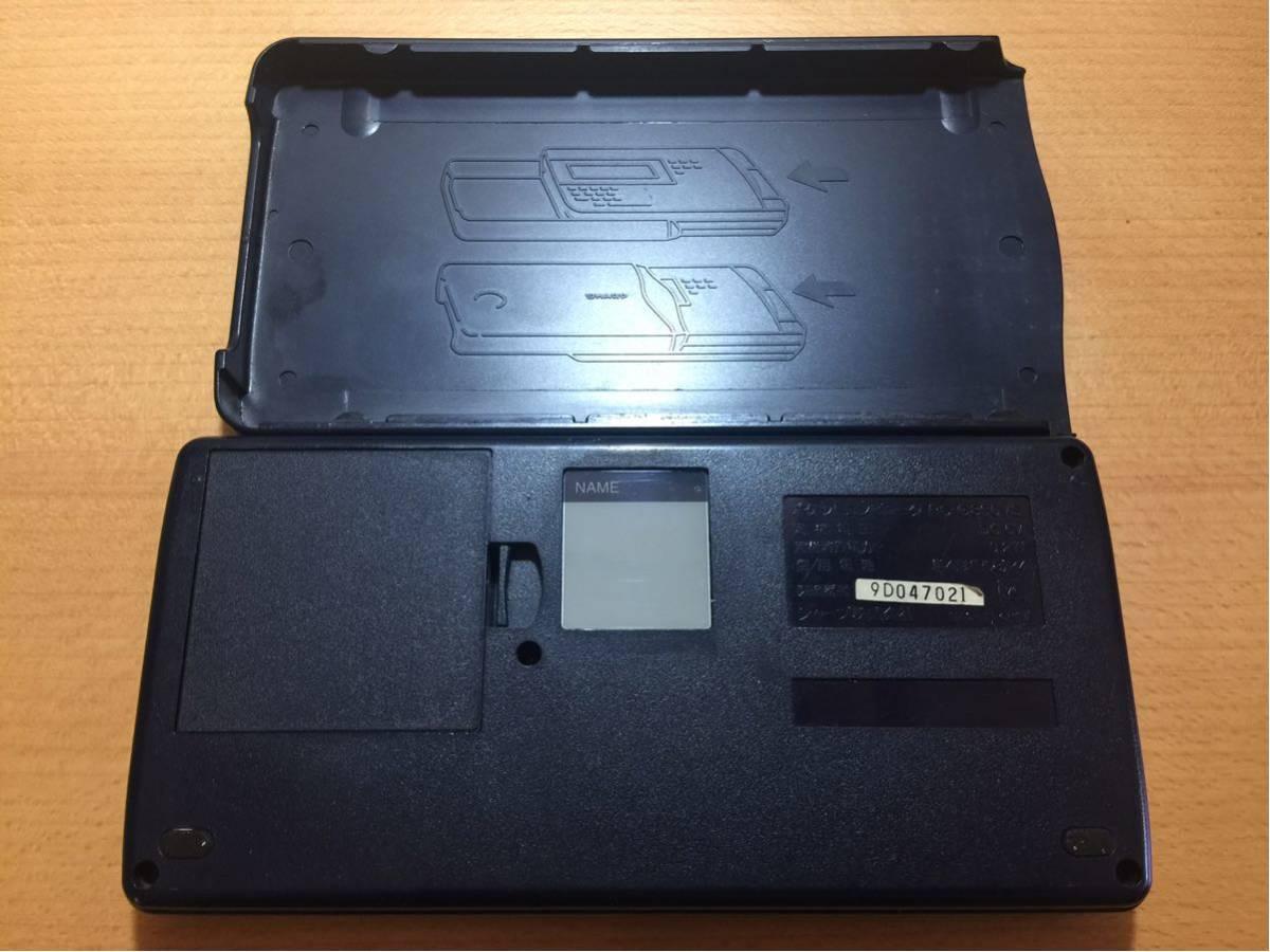 【動作品】シャープ ポケットコンピュータ ポケコン PC-G850VS_画像3