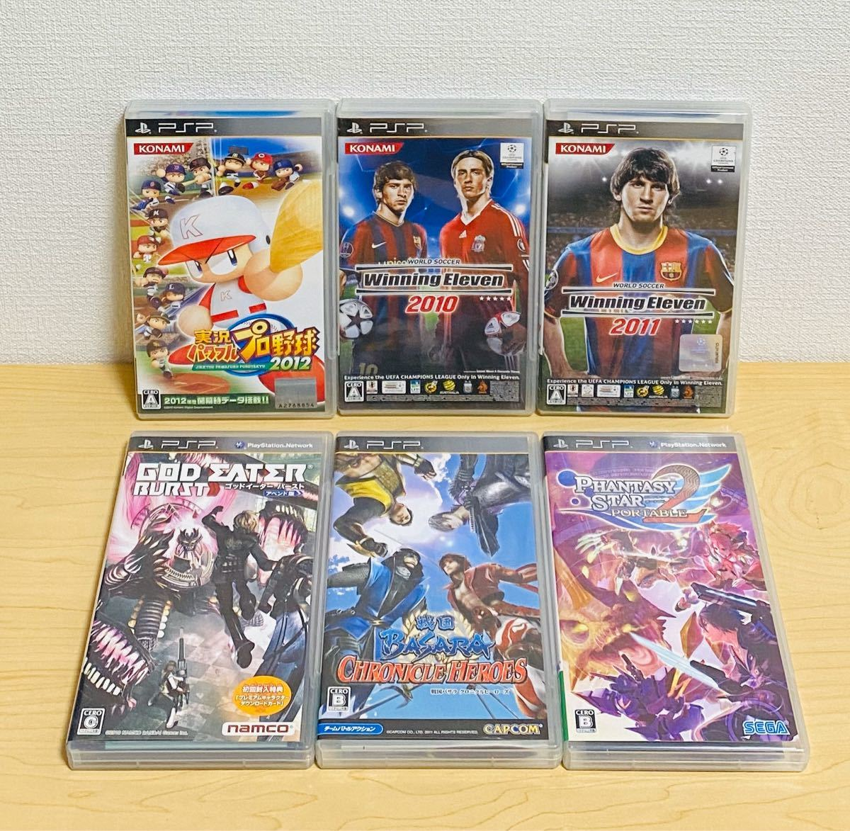 PSP ソフト 12本 SONY プレーステーションポータブル 中古 まとめ 6