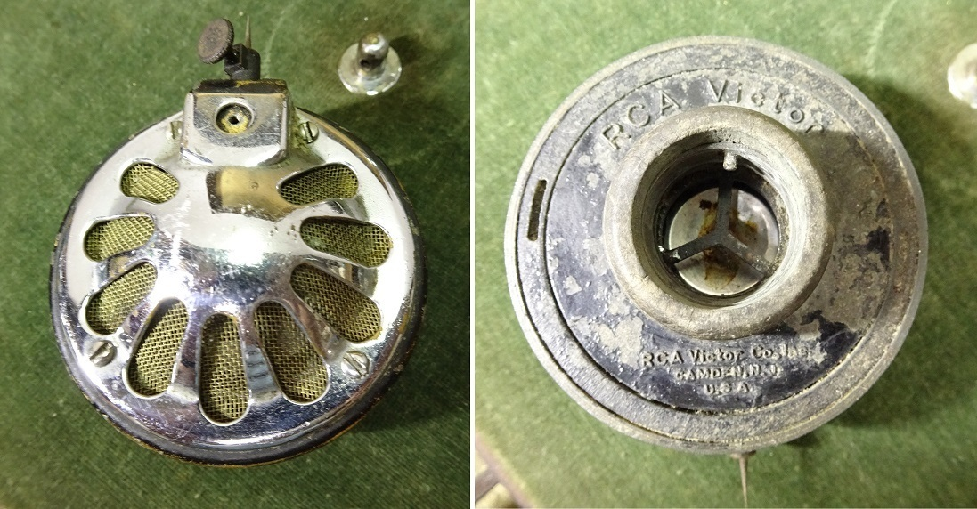 RCA Victor 古い蓄音機 一応なります 運賃着払 0912S5G_画像2