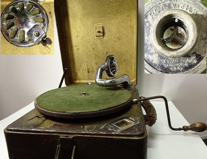 RCA Victor 古い蓄音機 一応なります 運賃着払 0912S5G_画像1
