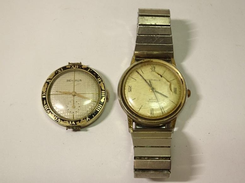 CARAVELLE BENRUS 手巻時計 レターパックプラス可 0903S29G_画像1