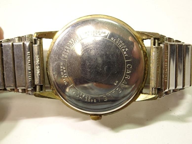 CARAVELLE BENRUS 手巻時計 レターパックプラス可 0903S29G_画像8