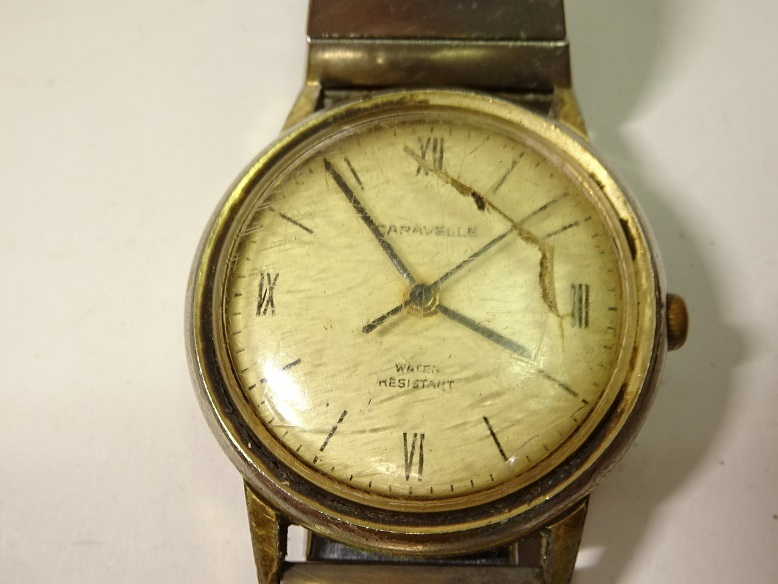 CARAVELLE BENRUS 手巻時計 レターパックプラス可 0903S29G_画像6