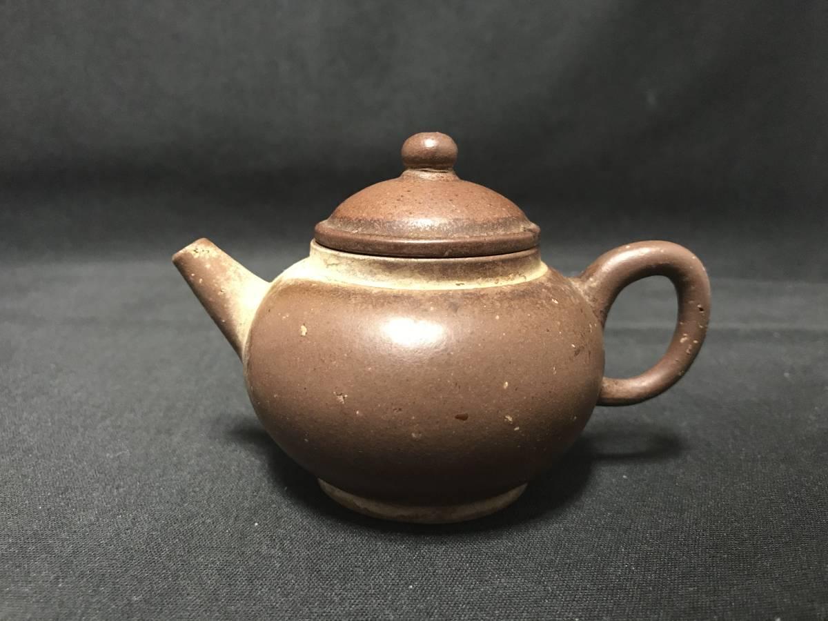 紫砂壷 急須 中国 水平壺 煎茶 朱泥 宜興 茶壷 孟臣 清