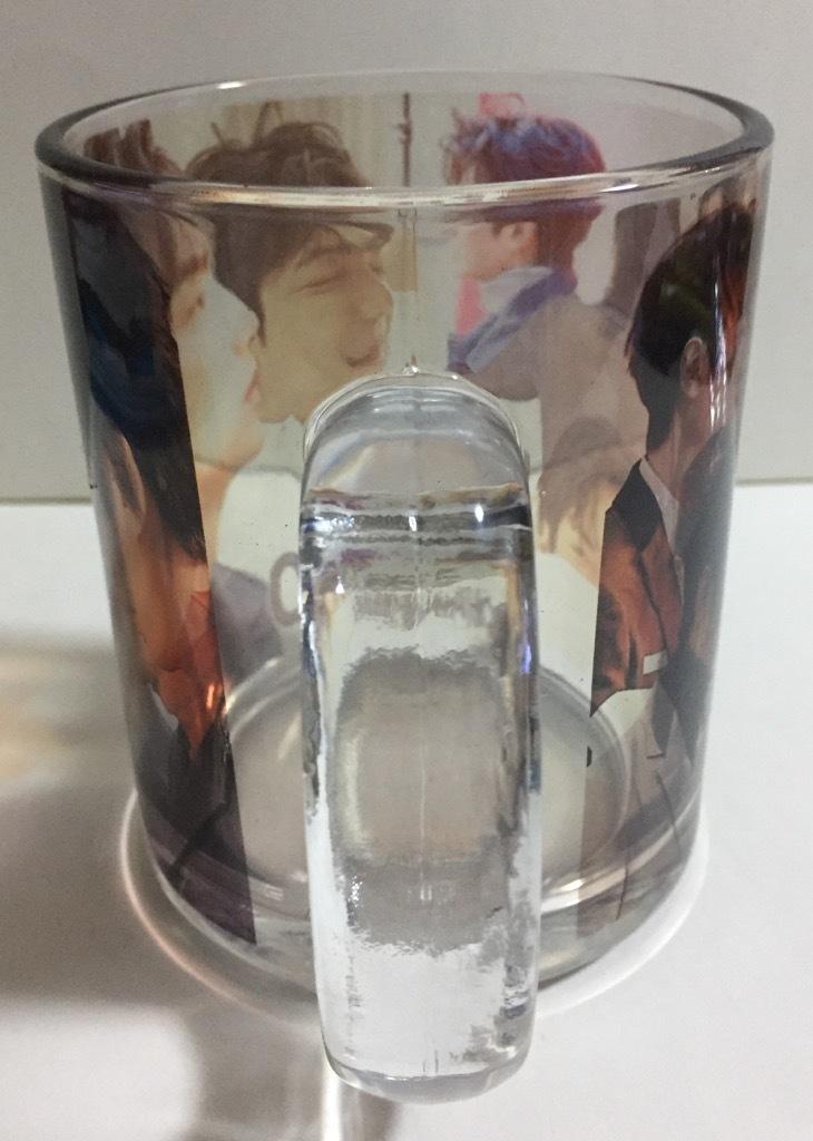 イミンホ 耐熱対応 透明ガラスコップ_画像3
