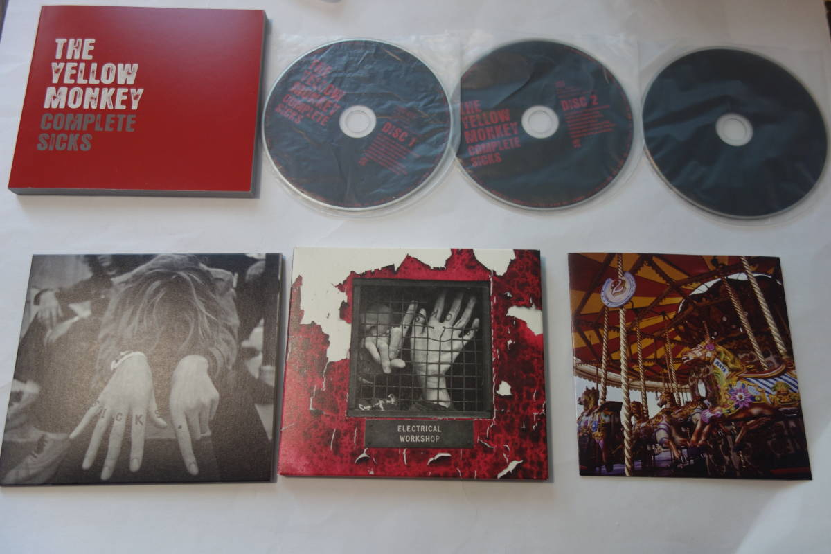 ◆THE YELLOW MONKEY(ザ・イエロー・モンキー)/COMPLETE SICKS Blu-spec CD+CD+DVD 完全生産限定盤◆レア 貴重_画像2