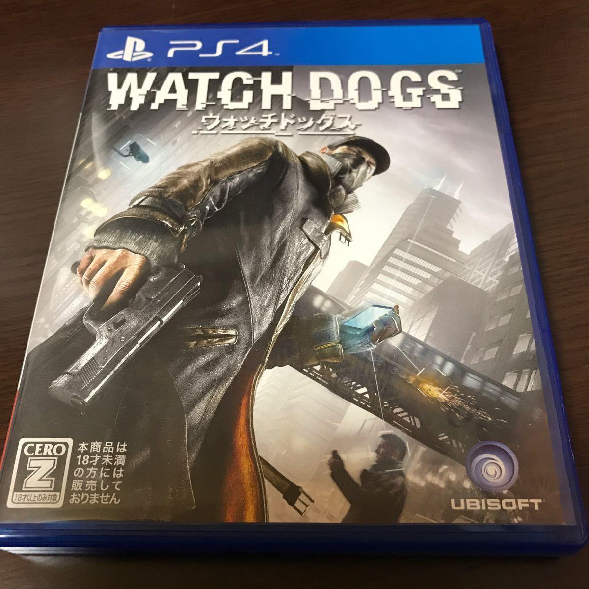 【PS4】 ウォッチドッグス WATCH DOGS