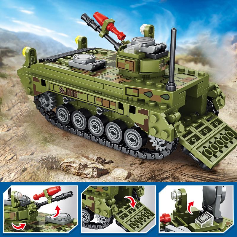 ★送料無料★ LEGO 互換 ミリタリーシリーズ 戦車1_画像2