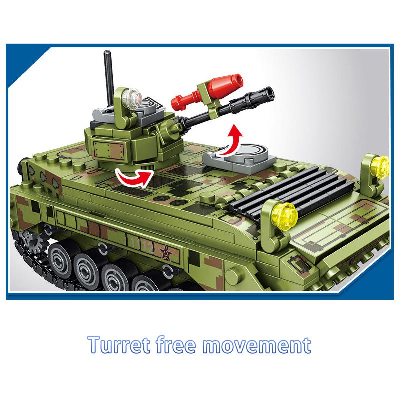 ★送料無料★ LEGO 互換 ミリタリーシリーズ 戦車1_画像5