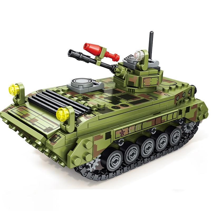 ★送料無料★ LEGO 互換 ミリタリーシリーズ 戦車1_画像6