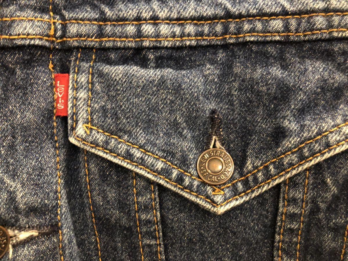 Levi's リーバイス70505デニムジャケット38☆ジージャン 4th 濃紺 復刻 ビンテージ 美品_画像6