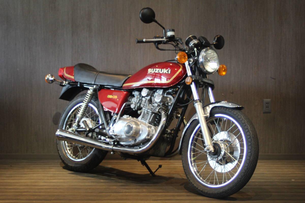 「1978年モデル  スズキ GS425  オリジナルコンディション 検無し」の画像3