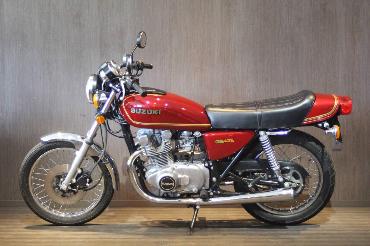 「1978年モデル  スズキ GS425  オリジナルコンディション 検無し」の画像2