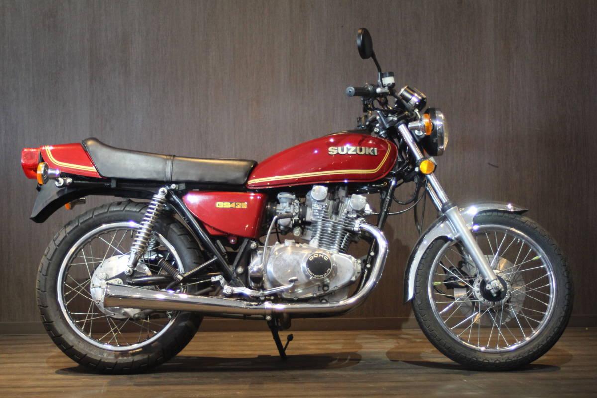 「1978年モデル  スズキ GS425  オリジナルコンディション 検無し」の画像1