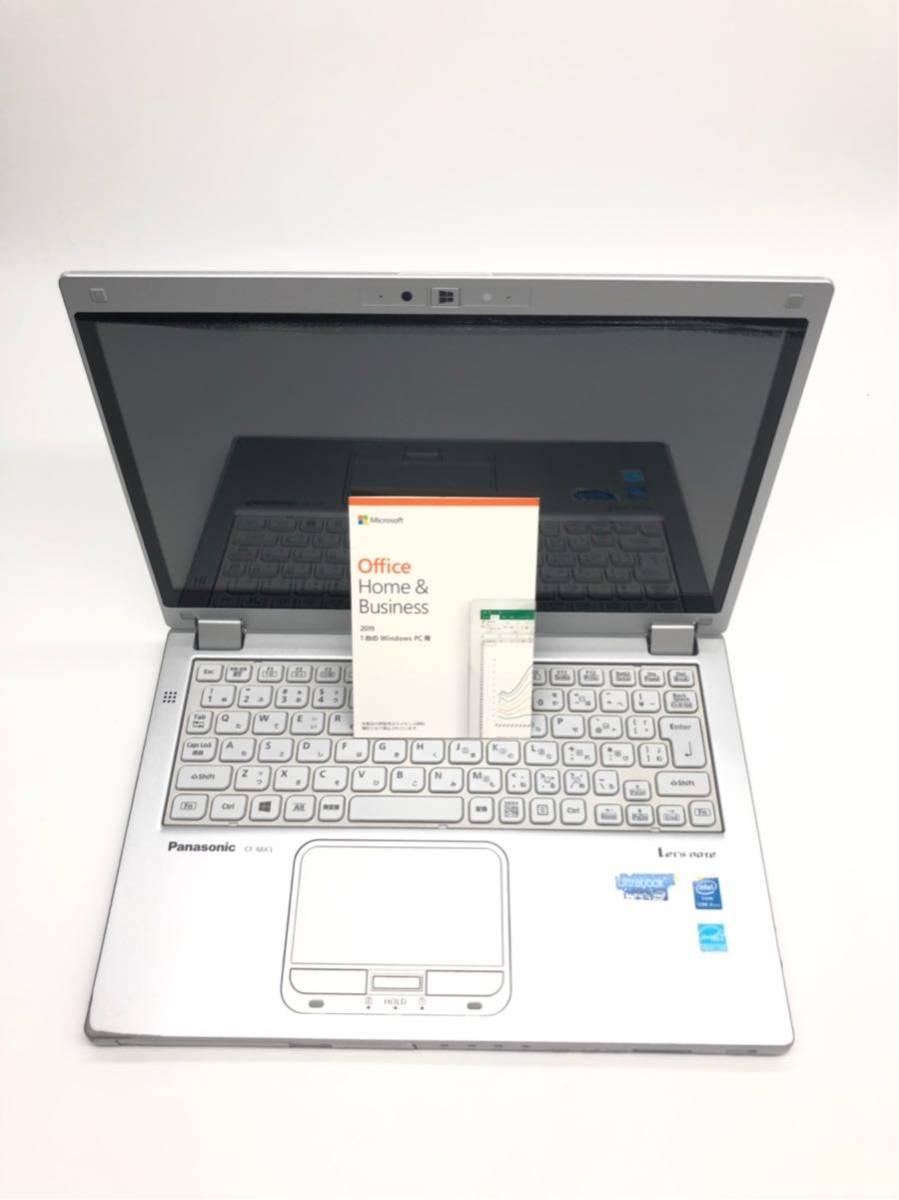 Panasonic Let''s note CF-MX3 Corei5-4300@1.9GHz メモリ4GB/SSD128GB/カメラ/無線/DVDマルチ/12.5インチ/office2019/win10pro64bit_画像3