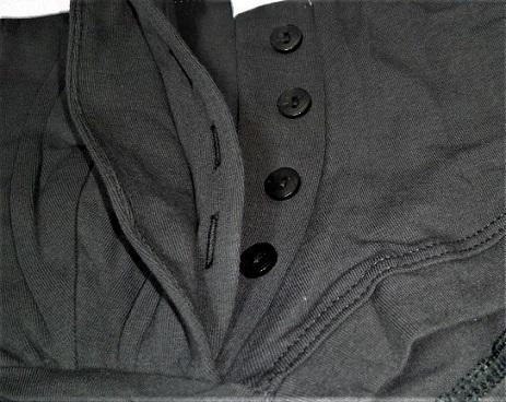 特価11/7迄【即決】懐かしい前開きラグパン仕様/むちむち3Dショートパンツ(S~M相当)イングランドタイプのラグビーパンツ風_画像2