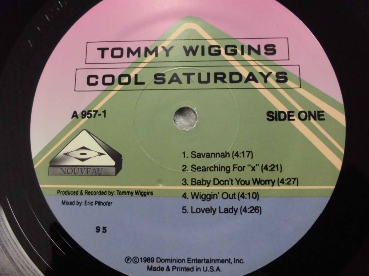 良盤屋J-1888◆LP◆Jazz トミー・ウィギンズ クール ・サタデーズ Tommy Wiggins Cool Saturdays>2000 US盤 新古品 送料380_画像6