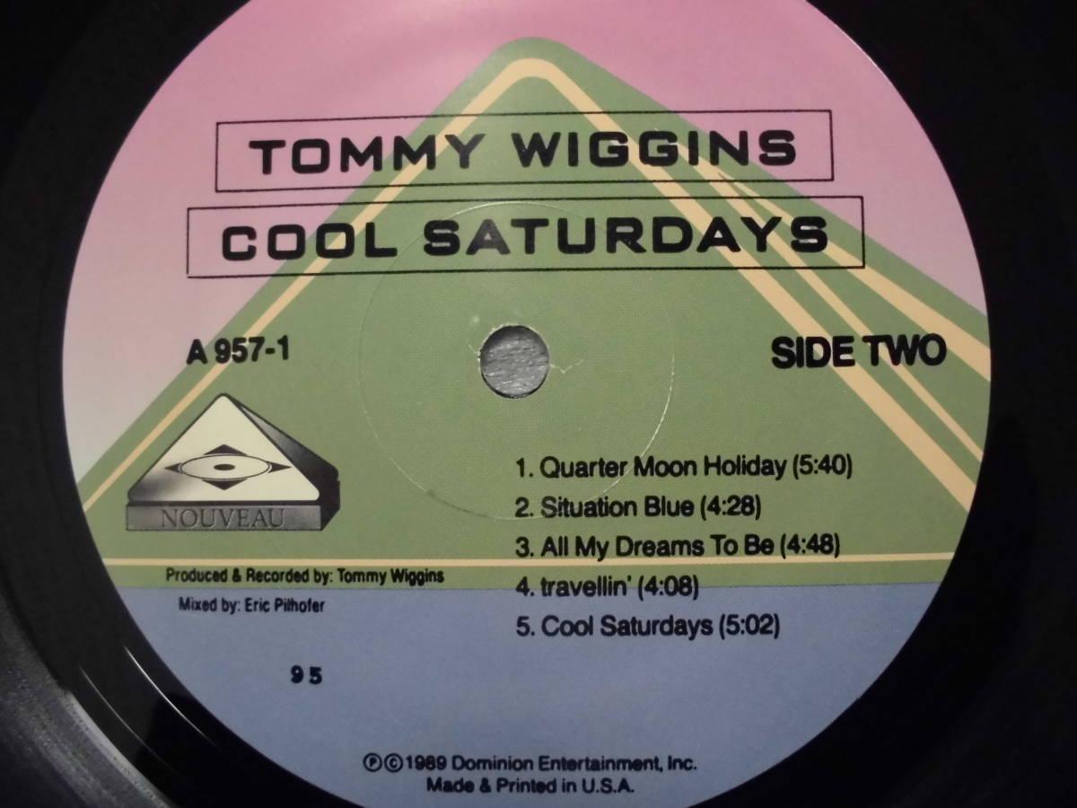 良盤屋J-1888◆LP◆Jazz トミー・ウィギンズ クール ・サタデーズ Tommy Wiggins Cool Saturdays>2000 US盤 新古品 送料380_画像8