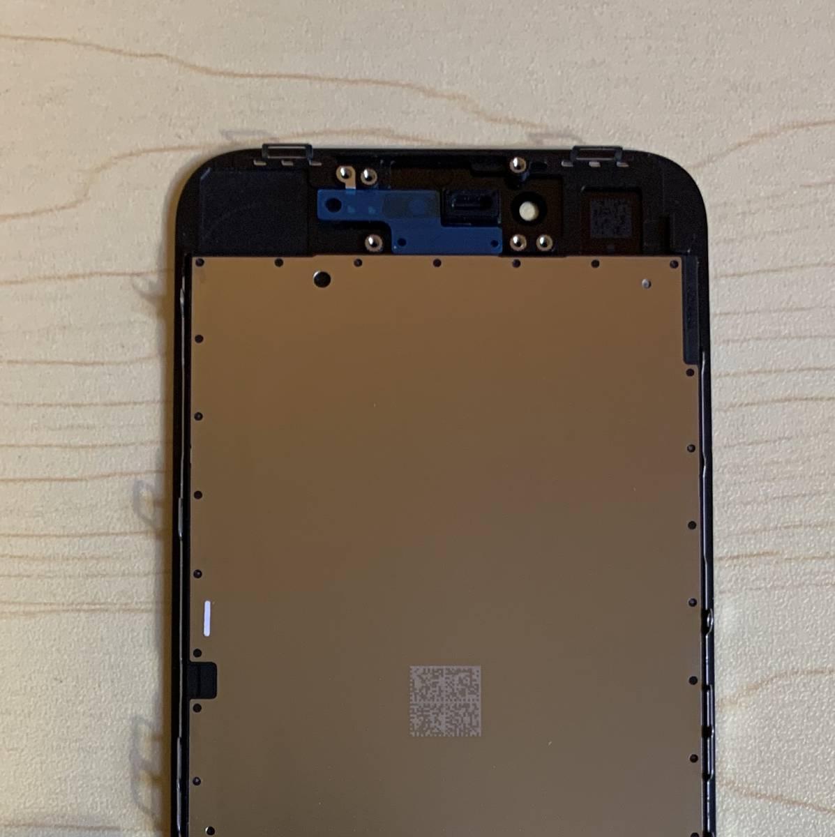 iPhone8 黒 純正再生品 フロントパネル LCD 画面 液晶 修理 交換。64gb 、 256gb 、Au 、Softbank 、docomo、Sim フリー_画像6