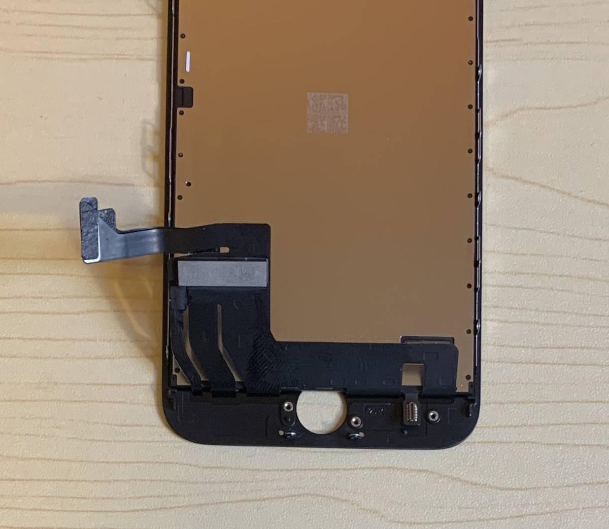 iPhone8 黒 純正再生品 フロントパネル LCD 画面 液晶 修理 交換。64gb 、 256gb 、Au 、Softbank 、docomo、Sim フリー_画像5