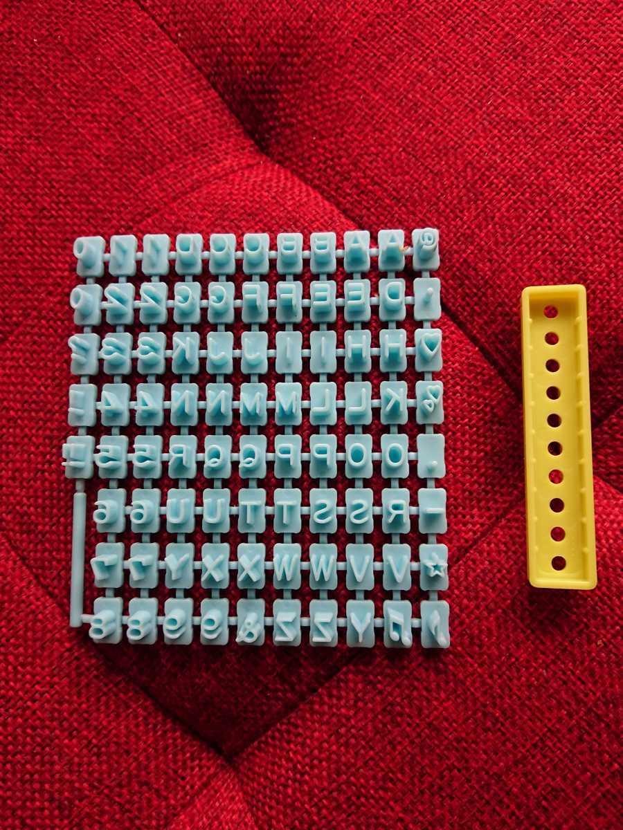 レザークラフト 刻印4種セット