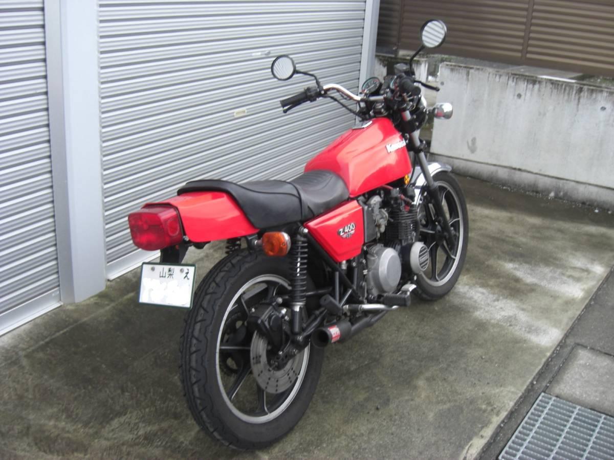 「Z400FX E2 国内物 昭和55年」の画像3