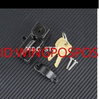 【メット盗難防止】汎用 バイク ヘルメット ロック 鍵 ホンダ CB1000R/CB1300SF/NC700XS/X/VFR800X/NC750SX/CBR400R 社外品_画像2