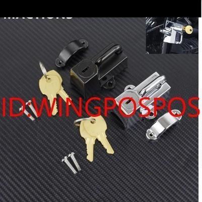 【メット盗難防止】汎用 バイク ヘルメット ロック 鍵 ホンダ CB1000R/CB1300SF/NC700XS/X/VFR800X/NC750SX/CBR400R 社外品_画像1