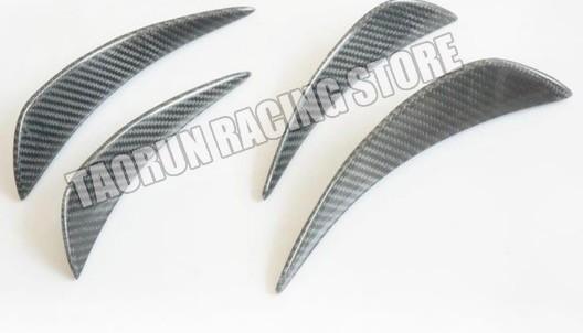 ベンツ バンパー サイド スポイラー カバー W205W204W203W447W463W176W211W212W213W220W221W222W218W219 CLS GLA GL SL CLA AMG カーボン柄_画像2