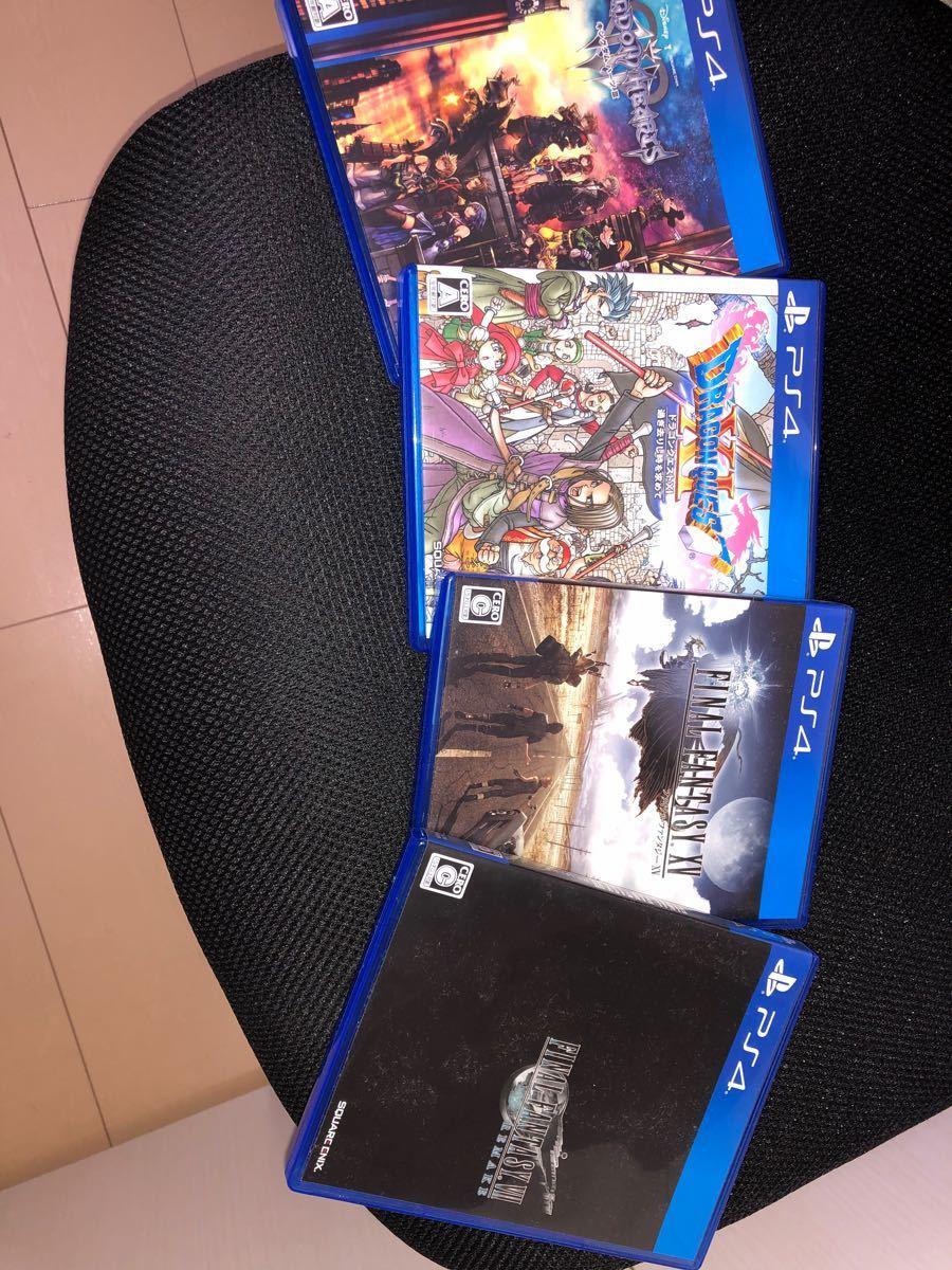 PS4本体+FF7リメイク ドラクエ11(ソフト6本セット)