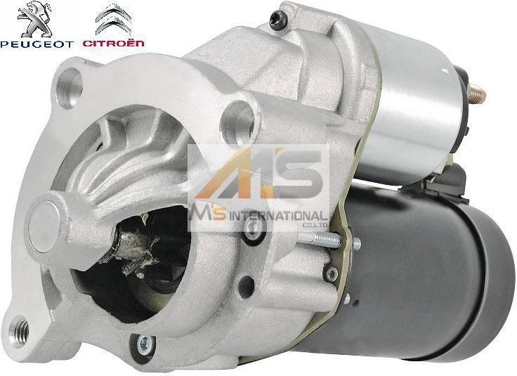 【M's】 Peugeot 206 307 308 406 408 / CITROEN C4 C5 クサラピカソ 純正OEM セルモーター / スターターモーター 5802V7 5802W3 5802CW_画像1