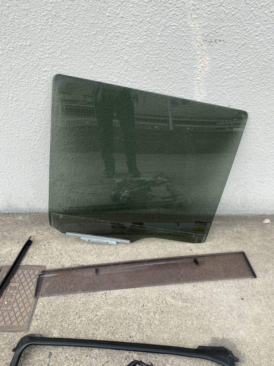 ダイハツ LA600S タントカスタム 右リアスライドドア パワスラ付き ガラス モーター 一式_画像2