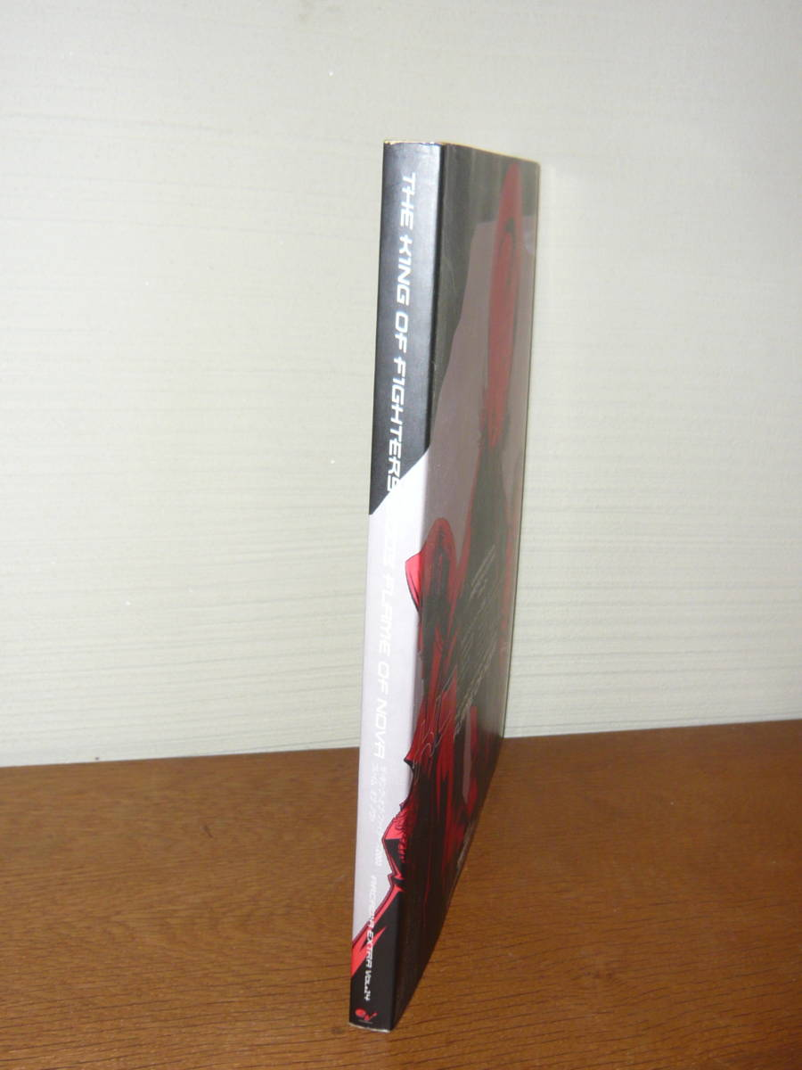 ゲーム攻略本 設定資料集 「ザ・キング・オブ・ファイターズ2003 フレイム オブ ノヴァ DVD欠品」(ARCADIA EXTRA Vol.14)_画像3