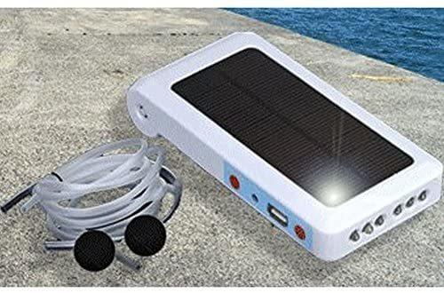 COM★MI-SLPUMP◆釣った魚を 新鮮にキープ !!!! ソーラー ポンプ 2200mAh どこでも釣りポンプ iPhon_画像1