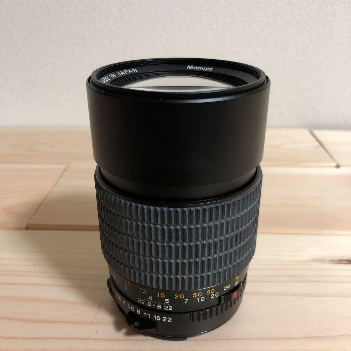 マミヤ MAMIYA-SEKOR C 150mm F2.8 A MAMIYA SEKOR 1:28 美品 カビ 曇り なし_画像1