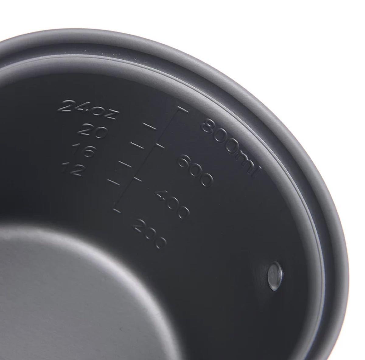キャンプ クッカーセット 調理器具 スポンジ・収納ポーチ付き 新品・未使用