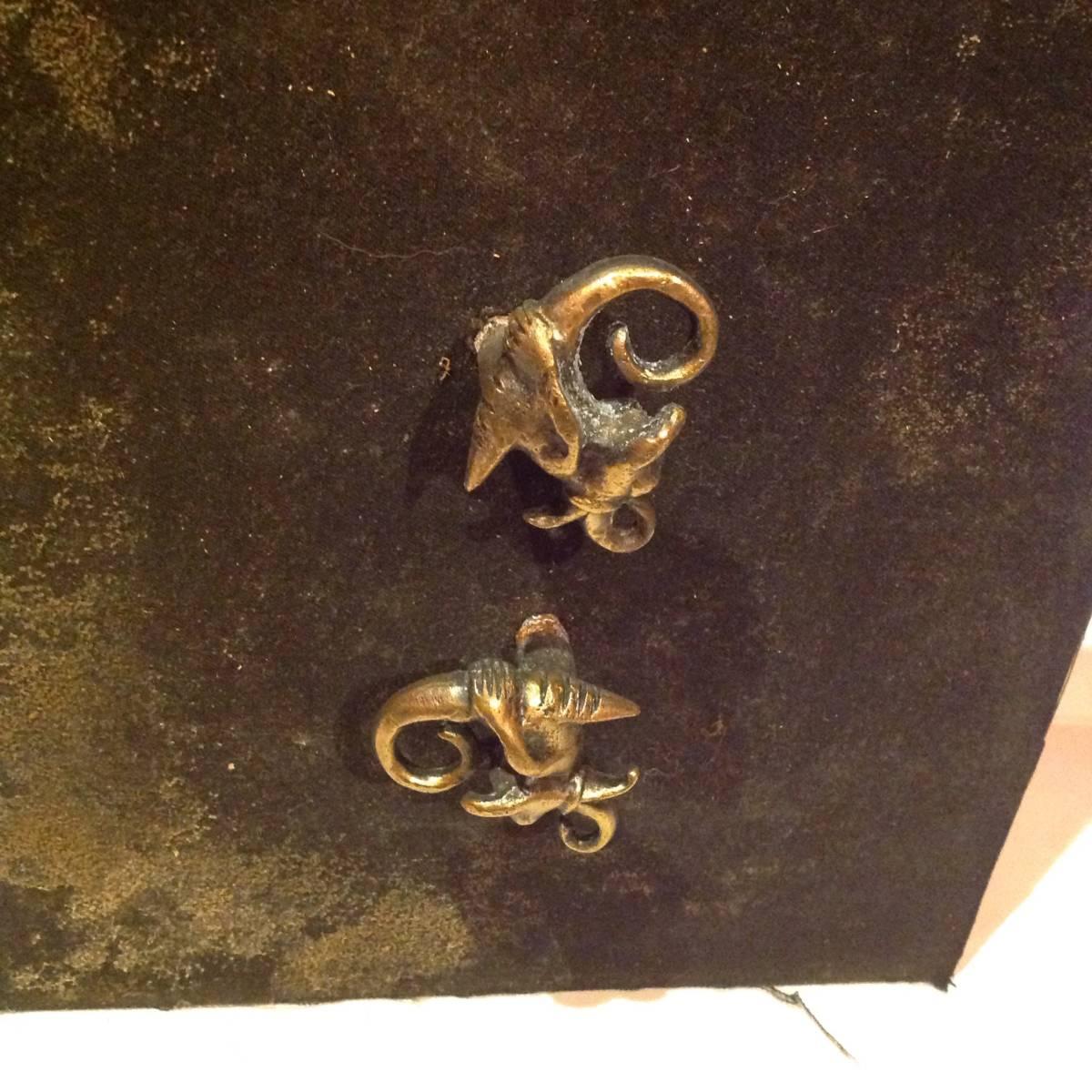 真鍮製のドラゴン_画像3
