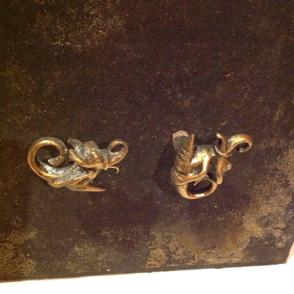 真鍮製のドラゴン_画像2
