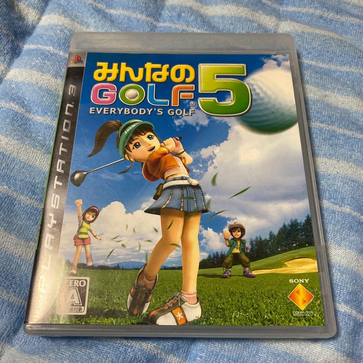みんなのゴルフ5 PS3