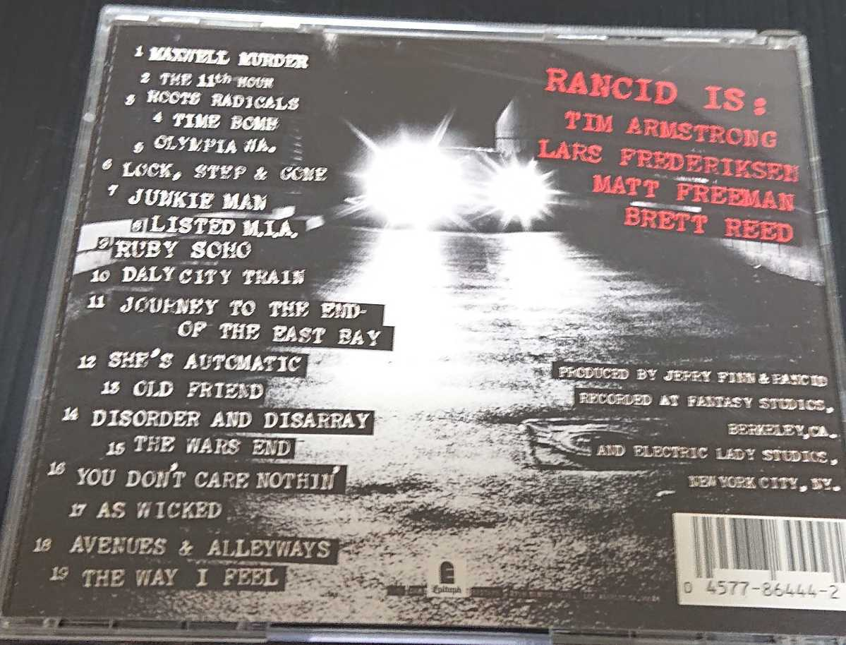 (CD) RANCID / ...AND OUT COME THE WOLVES
