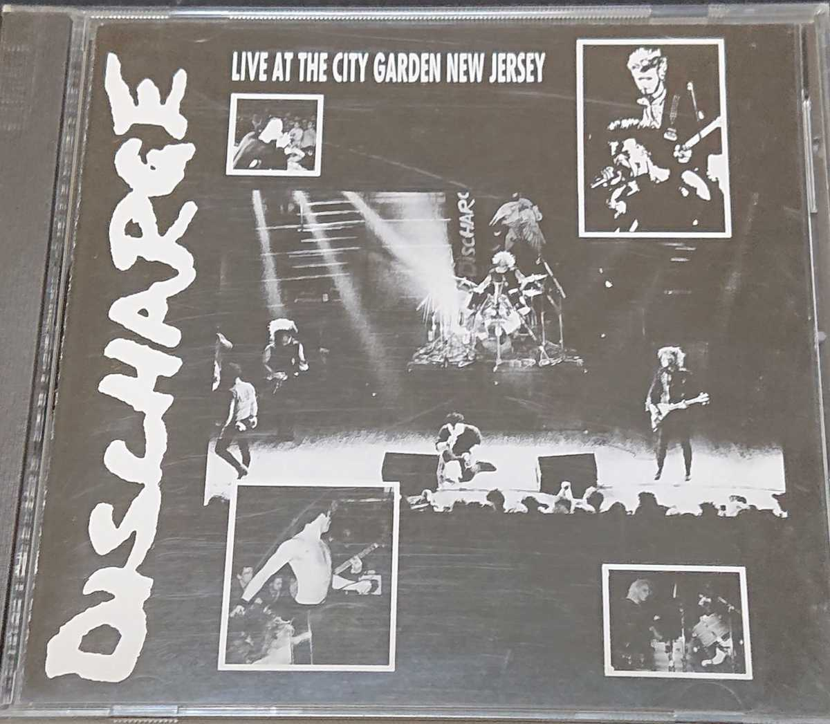 (CD) DISCHARGE/LIVE AT THE CITY GARDEN NEW JERSEY
