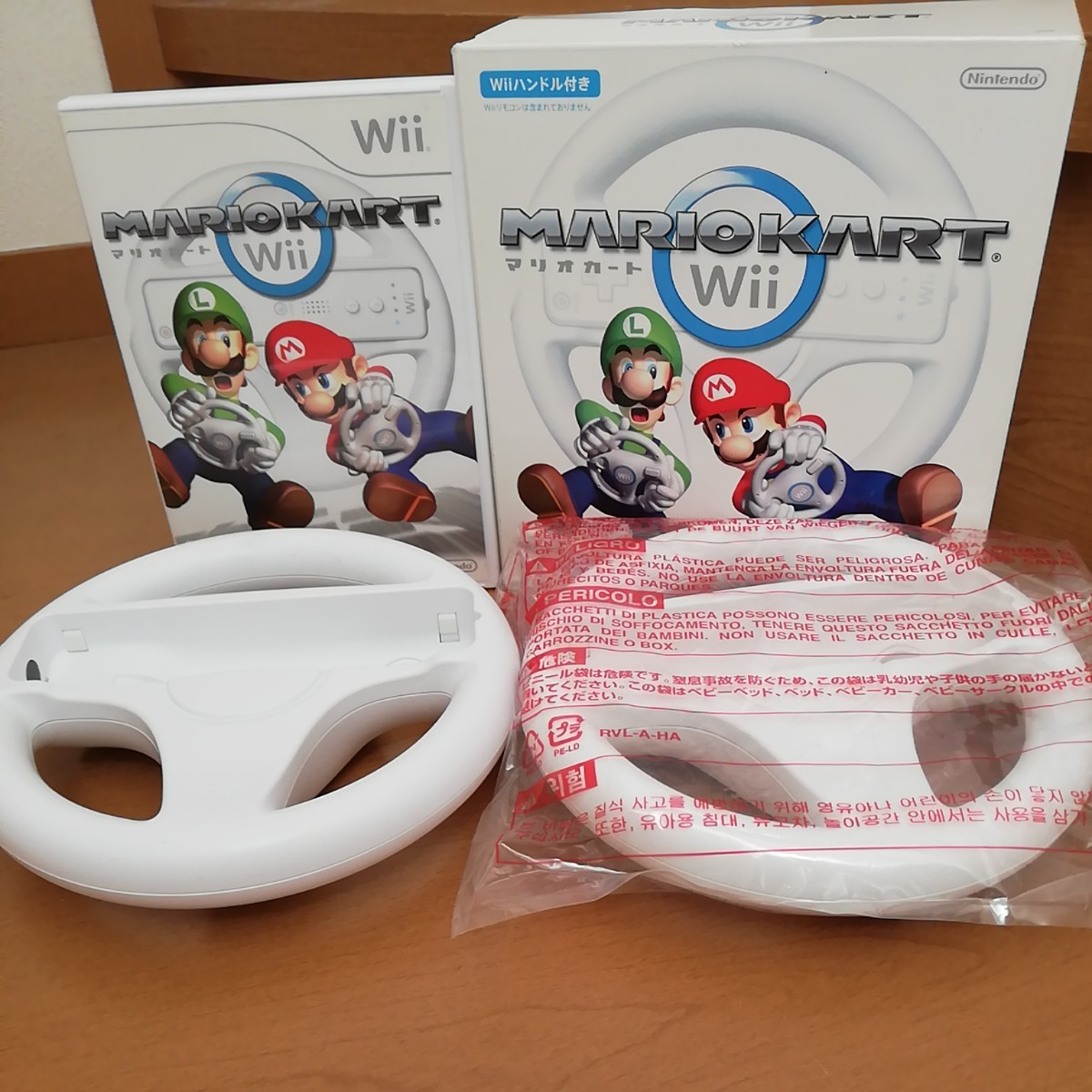 マリオカート Wiiマリオカート Wiiハンドル Wiiソフト