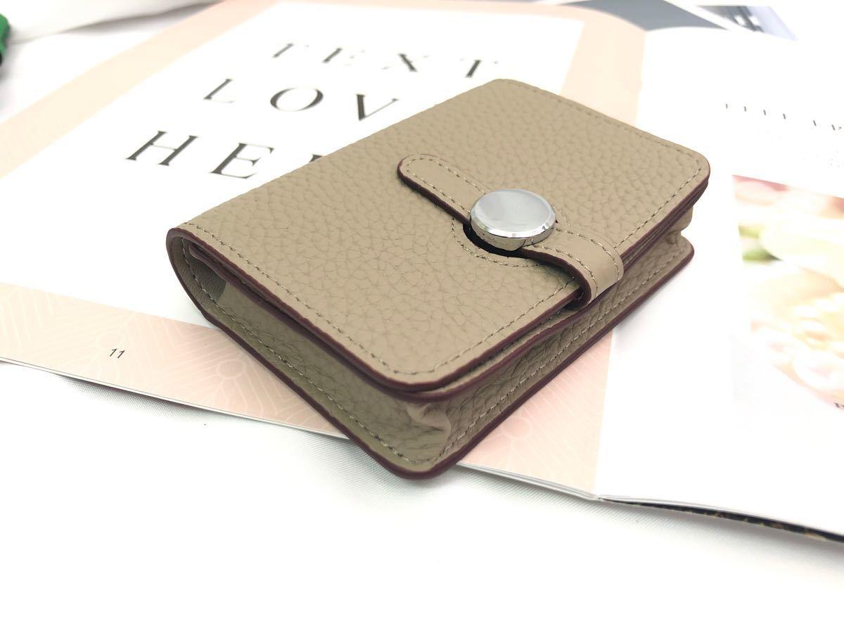 カードケース 名刺入れ レディース 本革 大容量 シンプル