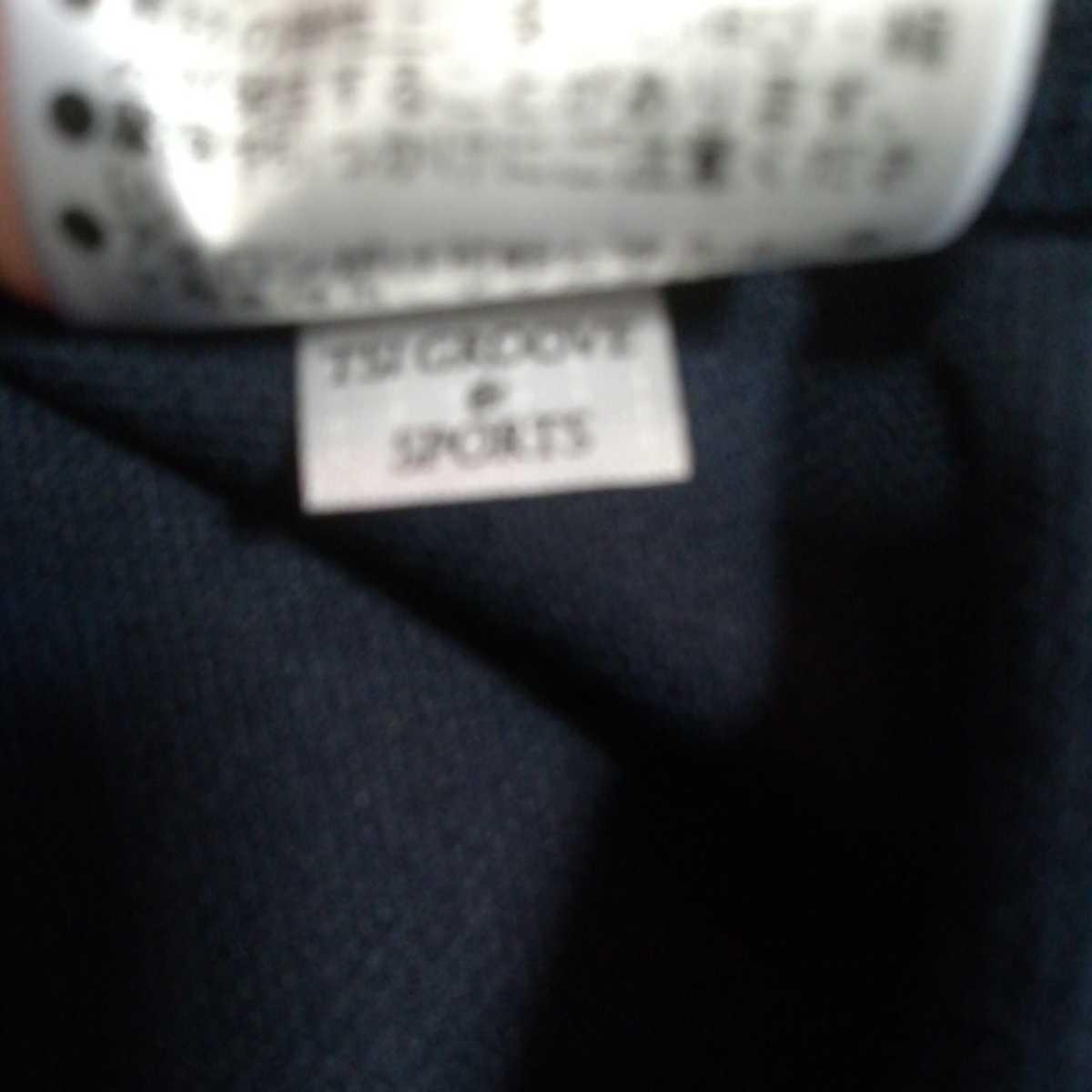 新品正規品 パーリーゲイツ サイズ1 2020最新作 サラサラ素材 ネイビー 鹿の子 ポロシャツ 送料無料_画像7